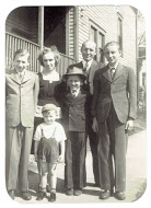 1941 ca Ron, Don, Erna, Allen, Vic, Gene