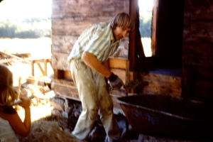 Re-building the house around 1970